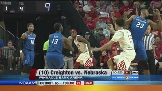 Creighton downs Nebraska 77-62