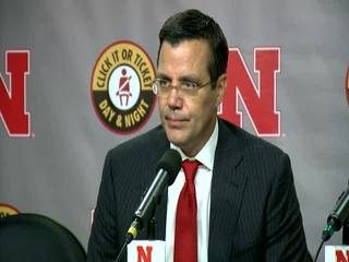 Huskers' Tim Miles' post-game press conference