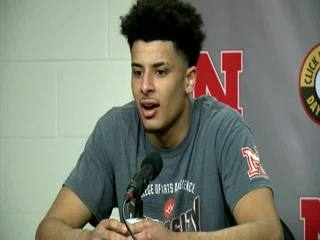 Huskers'  Webster post-game press conference