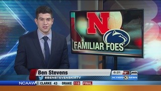 NU volleyball prepares for showdown with Penn St