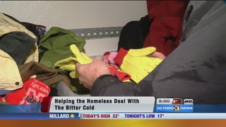 Warm clothing needed for the homeless