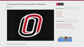 UNO officials respond to series of hate crimes