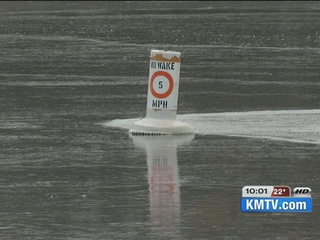 Officials send warnings about thin ice