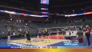 Nebraska volleyball prepares for Final Four
