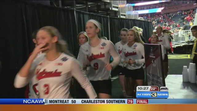Huskers Volleyball falls to Texas in NCAA Final Four