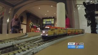 All Aboard! Interactive model train exhibit