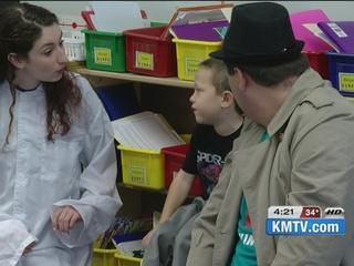 Students learn citizenship skills through art