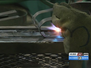 Westside High's welding program looks to expand