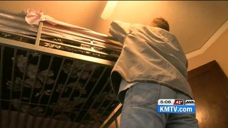 Fire displaced family gets donated furniture
