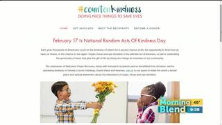 National Random Acts of Kindness Day 2/17/17