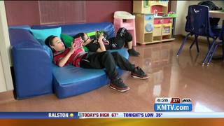 Boys who never met become friends in hospital