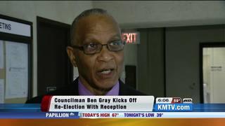 Councilman Ben Gray kicks off re-election