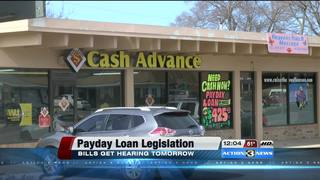 NE lawmakers to hear legislation on payday loans