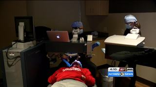 Quadriplegic man gets free LASIK, gives back