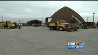 City, county, state crews brace for wintry blast