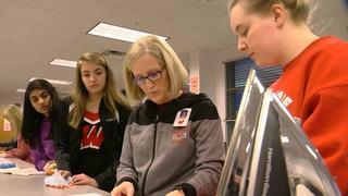 Students showcase their work at Fashion Week