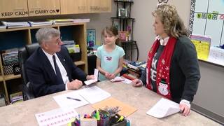 Third graders learn about early U.S. immigration