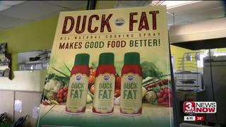 Omaha man creates duck fat cooking spray