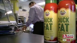 Omahan sells Duck Fat in a Spray
