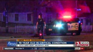 Teen critical after being hit by car