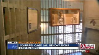 The hidden historic jail that spins in Iowa