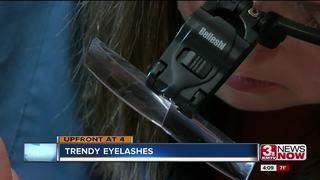 Trendy Beauty: Eyelash Extensions