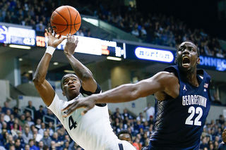 Akoy Agau transferring from Georgetown