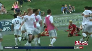 Elkhorn South wins 1st boys state soccer title