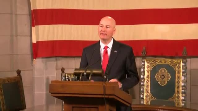 (Audio) Governor Pete Ricketts Issues Final Budget Decision