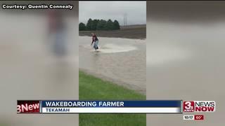 Wakeboarding farmer nets millions of video views