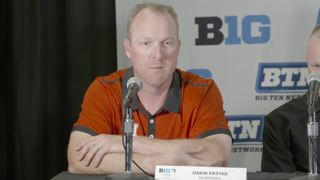 Darin Erstad talks Big Ten baseball tournament
