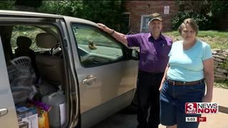 Moving Veterans Forward support homeless couple