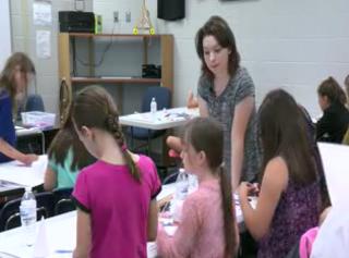 Papillion La Vista offers STEM camp for girls