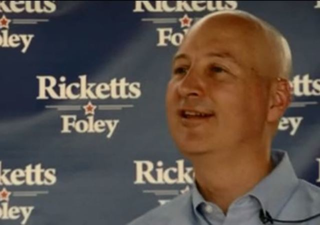 Ricketts, Foley formally announce Nebraska re-election bid