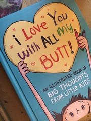 Dad makes books from kids' ridiculous sayings
