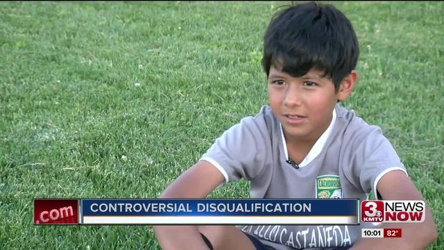 Girl disqualified from soccer game because she looked like a boy