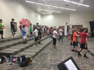 Into the high stakes show choir camp
