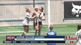 Honorary captains goals highlight Shrine Soccer