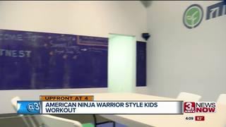 Omaha opens ninja warrior gym for kids