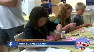 Summer camp blurs learning and fun together