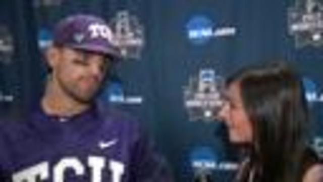 TCU eliminates Texas A&M from CWS