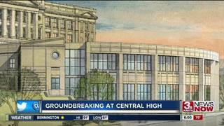 Omaha Central breaks ground on renovation