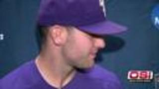LSU pitcher helps Tigers stay alive