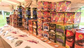 Tent fireworks sales underway in Council Bluffs