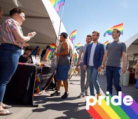 Zuckerberg pops in at Omaha's Pride Festival