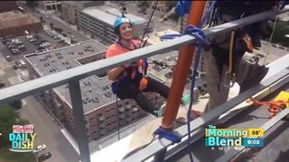 Kelly goes Over the Edge! 6/26/17