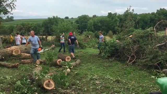 Rural Iowa hit with two dozen tornadoes
