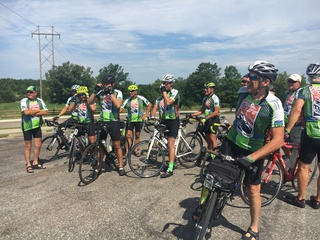 Biking across Nebraska for organ donations