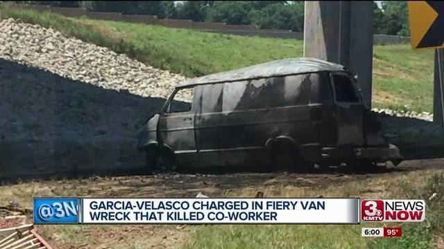 Fiery Van Crash Driver An Illegal Immigrant Faces 20