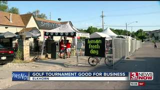 Golf tournament brings boost to shops in Elkhorn